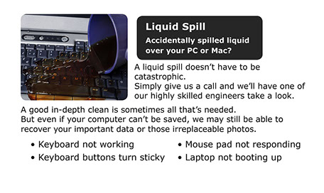 Fix all liquid related damage.